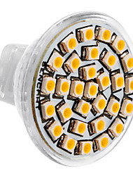 MR11 1.5W 30x3528SMD 150-180LM 3000-3500K Warm White Light LED Spot Bulb (DC 12V)