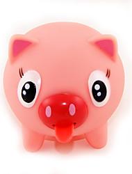 compressível sonoridade elástico língua rosa porco língua chamada sino brincadeira