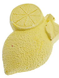 Forme de citron, minéral, pierre pour les écureuils Chinchilla Grincement des dents