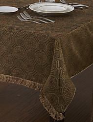 Ретро стиль цветочные настольные образцу ткани