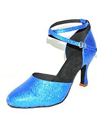 personalizzati spumanti scintillio latino / sala da ballo scarpe da ballo (più colori)