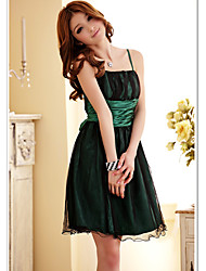 Women's Party/Cocktail Plus Size Plus Size Dress,Solid Strap Above Knee Sleeveless Blue / Green / Purple Summer