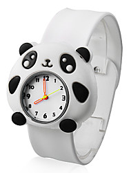 Infantil Relógio de Moda Quartz Silicone Banda Relógio de Pulso / Desenhos Animados Branco