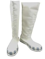 Botas Cosplay Cosplay Tsubaki Nakatsukasa Animé Zapatos de cosplay Blanco Mujer