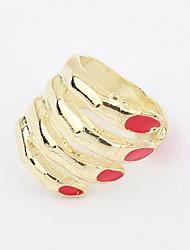 Attraktive Alloy Hand Shaped Ring der Frauen