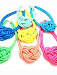Chinese Knot Braided Necklace
