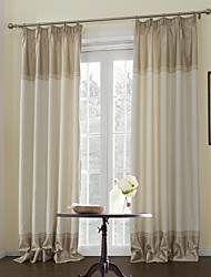 AnTi™ (Two Panels) Neoclassical Leaf Energy Saving Curtain
