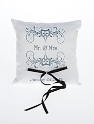 Personalized Ring Pillow With Ribbon