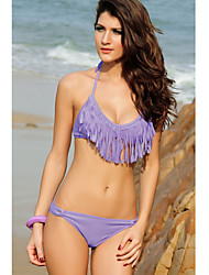 Halter Fringe Bikini