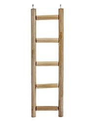 Toy Pássaro escada de madeira para papagaios