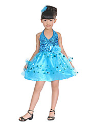 Ballet Dresses Children's Tulle Sequins High