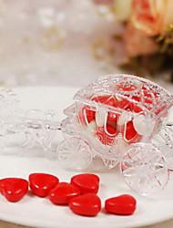 6 Piece/Set Titulaire de Faveur Plastique Boîtes à cadeaux Non personnalisé