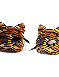Tiger Halloween Tier Maske Half Face Mask