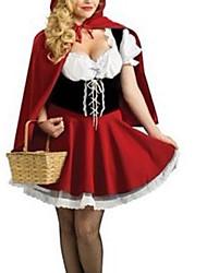 Allez pour le costume de conte de fées d'un pique-nique Little Red femmes