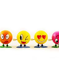 Стволовые Ликвидация Прыжки мультфильм лицо мяча куклы (Random Color)