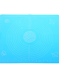 Big Size Silicone Pad Baking Mat with Marks (Random Color)