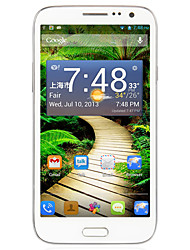 "B6000 5.7 "" Android 4.2 3G-Smartphone (Dual SIM Quad Core 12 MP 1GB + 8 GB Weiß)"