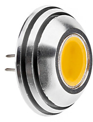 G4 1.5W 125-140LM 3000-3500K luce bianca calda Rounded punto della lampadina del LED (12V)