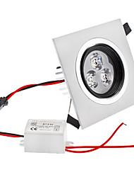 Dimmable 3W 1-210LM 3000-3500K lumière blanche chaude Place ampoule de plafonnier LED (220V)