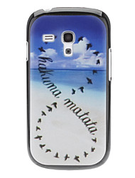 Sky und Vogel-Muster Hülle für das Samsung Galaxy S3 I8190 mini