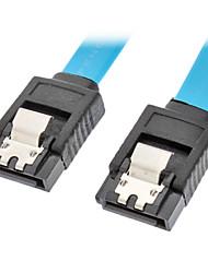 SATA 3.0 macho a macho Cable azul (0.3M)