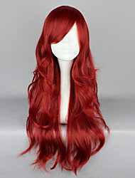 Lolita Wigs Gothic Lolita Lolita Long Red Lolita Wig 65 CM Cosplay Wigs Solid Wig For Women