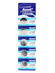 CR2032 3V Lithium Watch Battery (5pcs)