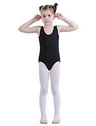 Dancewear algodão malha de dança para crianças