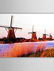 Stretched Canvas Art Landscape Power