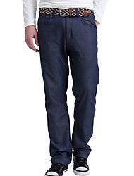 Washed Jeans Casual Fold HOMBRES de los