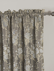 TWOPAGES® (Two Panels) Country Jacqaurd Blackout Curtain