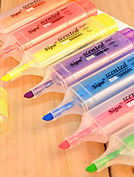 7 Color Fluorescent Highlighter(7 PCS)
