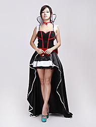 Sexy Adult Womens Long Princesa falda de lujo del traje de Halloween