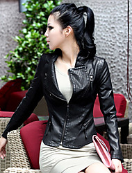 Women's Jackets , Casual Long Sleeve