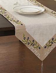 Floraux classiques Chemins de table Linge