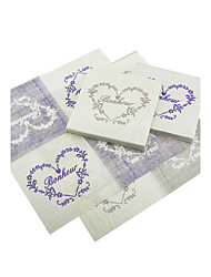Beverage Napkins - Heart Print - Set of 20 (More Colors)