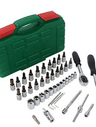 46 Pcs Tool Kits Case with Hard Carrying Handle for Your Car & Home& Office Use