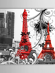 Stretched Canvas Art Architecture Paris Eiffel Tower
