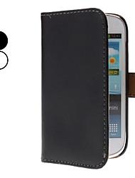 PU-Leder Ganzkörper-Fall mit Ständer und Kartenslot für Mini i8190 Samsung-Galaxie s3