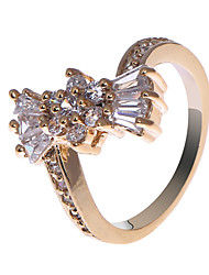 S & V Frauen-18K Rose Gold Plating Zirkon Ring BBR-00270_1