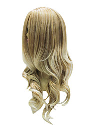 Sexy Ladies Top Grade Synthetic Light Ash Blonde Long Wavy Wig