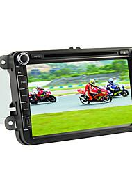8-Zoll-2 din TFT-Bildschirm im Armaturenbrett Auto-DVD-Spieler mit Bluetooth, Navigation-ready GPS, iPod-Eingang, RDS, canbus, ISDB-T