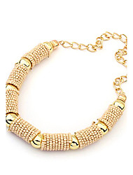 Women's Choker Necklaces Alloy Fashion Bohemia 2 3 4 5 6 Jewelry Party Daily 1pc