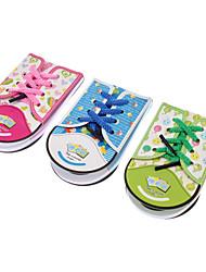Chaussures en forme de bloc-notes (couleur aléatoire)
