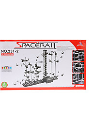 10000мм Электронные Железнодорожный Building Block Рельс космоса Roller Coaster головоломки игрушки