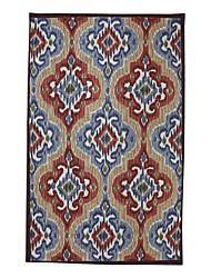 Style Vintage Laine tuftés Carpette 5 'x 8'
