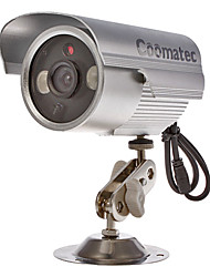 Coomatec DVRCam CCTV Waterproof SD Card DVR Camera (1/4 Inch CMOS , Array -Ir Leds AV-OUT)