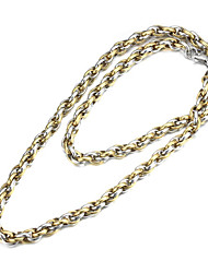 """titânio aço ligação metal hook-ups cadeia homens da moda 22 """""""