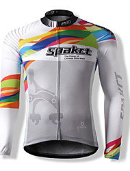 SPAKCT® Men's / Unisex Long Sleeve BikeBreathable / Thermal / Warm / Quick Dry / Windproof / Front Zipper / Dust Proof / Anti-Insect /