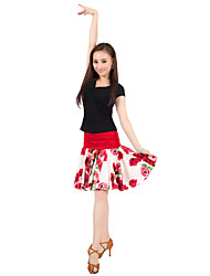 Dancewear Satin Latin Dance Skirt for Ladies(More Colors)